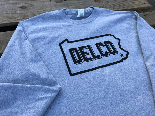 DELCO Long Sleever Grey