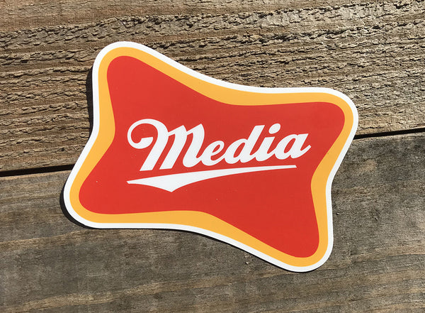 Media High Life Sticker