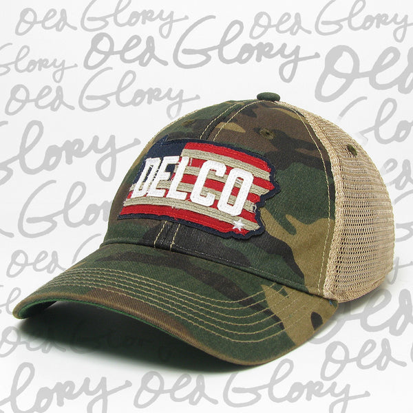 Hat DELCO Old Glory Camo