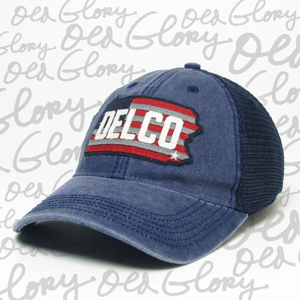 Hat DELCO Old Glory Navy & Navy