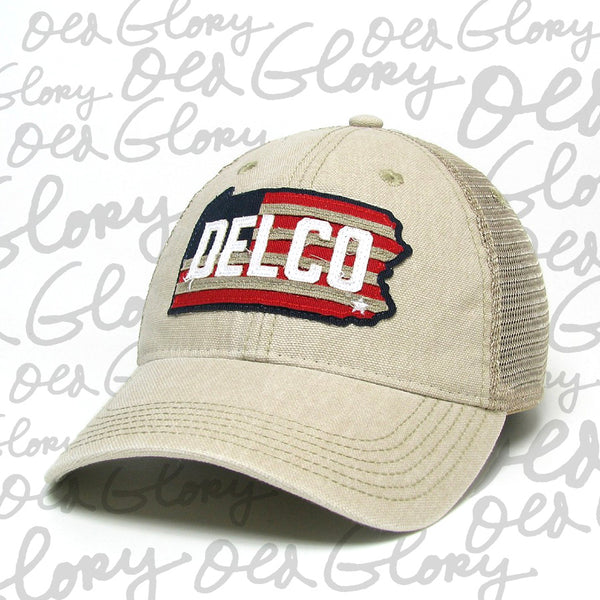 Hat DELCO Old Glory Stone