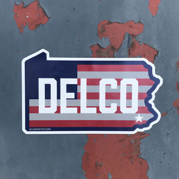 DELCO Star & Stripes Magnet