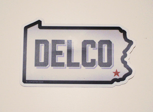 DELCO Sticker