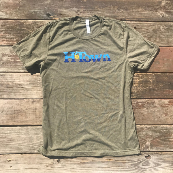 HTOWN Waterfall Olive