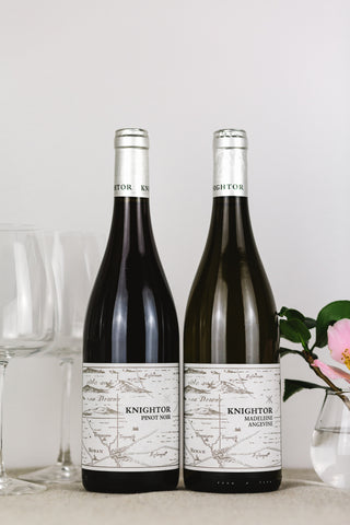 English Red and White Still Wine Duo