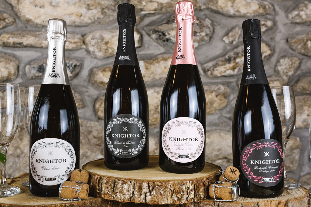 Knightor Sparkling Selection 4 Pack