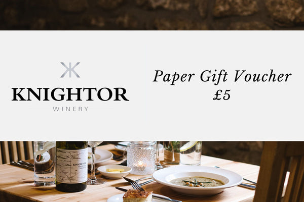 Knightor Gift Voucher (physical voucher)