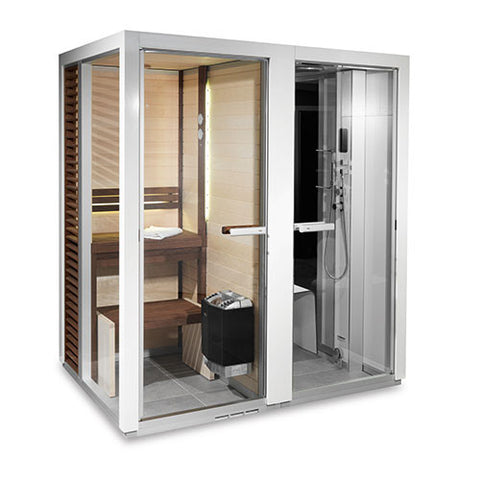 Tylo Sauna - Impression Twin Sauna & Steam Room