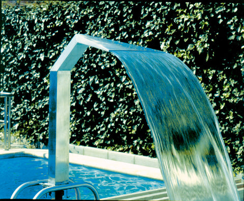 Astral Ornamental Water Feature: Cobra Curtain