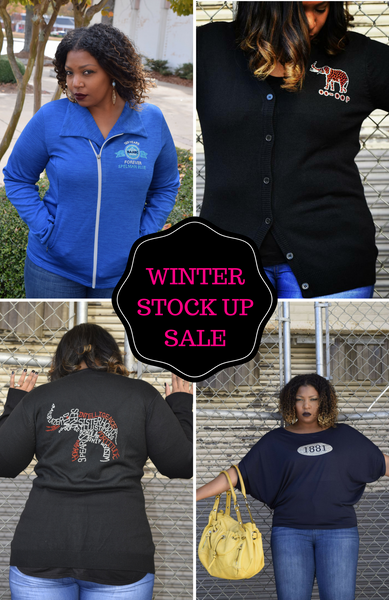Winter Stock Up Sale