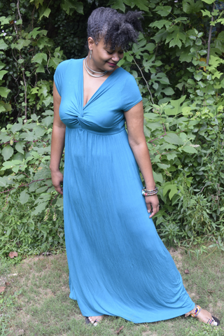 The Closet Refresh: Beauty Without Effort Grecian Maxi