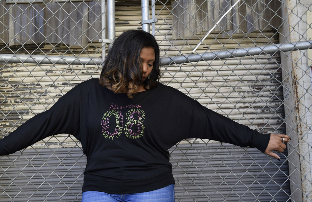 "40% Off Sale: Infinity ""1908"" Long Sleeve Blousy"