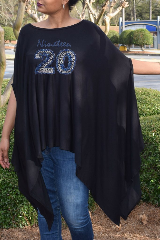 "New Arrival:  Infinity ""1920"" Blousy Tunic Poncho"