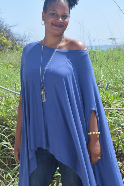 The Closet Refresh: Poncho Tunic