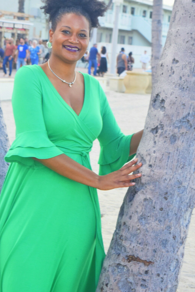 The Closet Refresh Collection: Emerald Green Maxi Dress