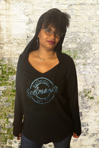 Authentic Spelmanite V-neck Cuddle Hoodie