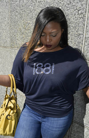 "The Classic ""1881"" Short Sleeve Blousy"