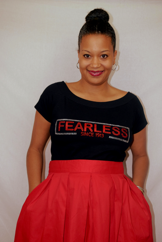 40% Off Sale:  Fearless Since 1913 - Scoop Neck