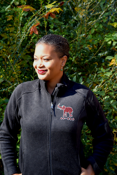 40% Off Sale: Pendant Elephant Fleece Jacket