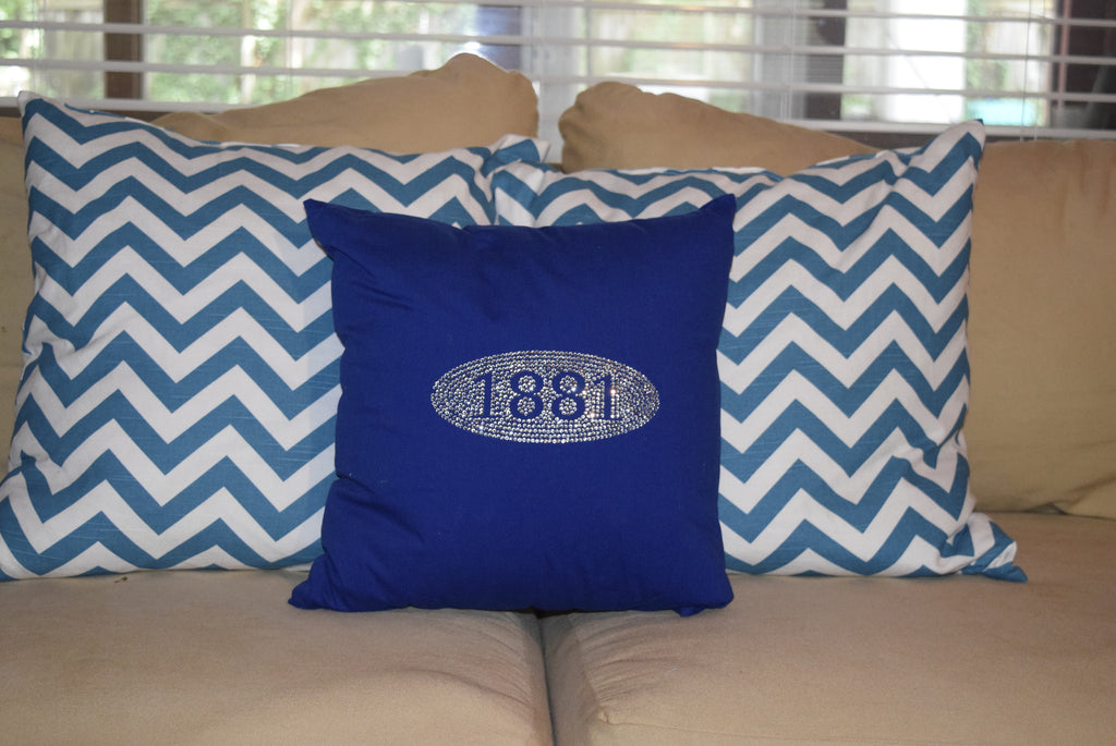 "The Throw Pillow:  ""Founders"" 1881"