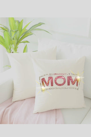 """Proverbs 31 Mom"" Throw Pillow"