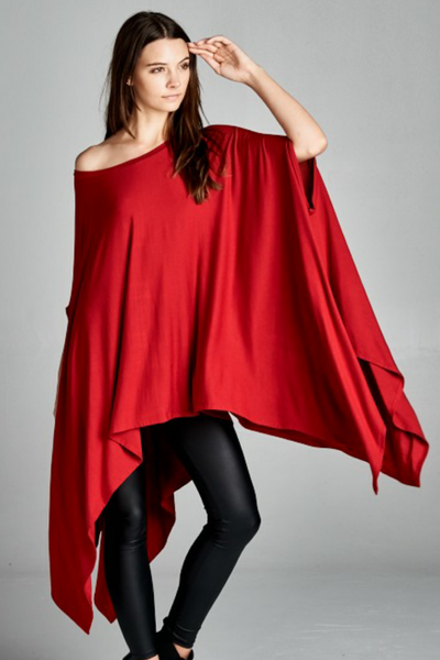 "New Arrival:  Infinity ""Elephant"" Blousy Tunic Poncho"