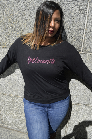 "The ""Spelmanite"" Rose Stone Tee"
