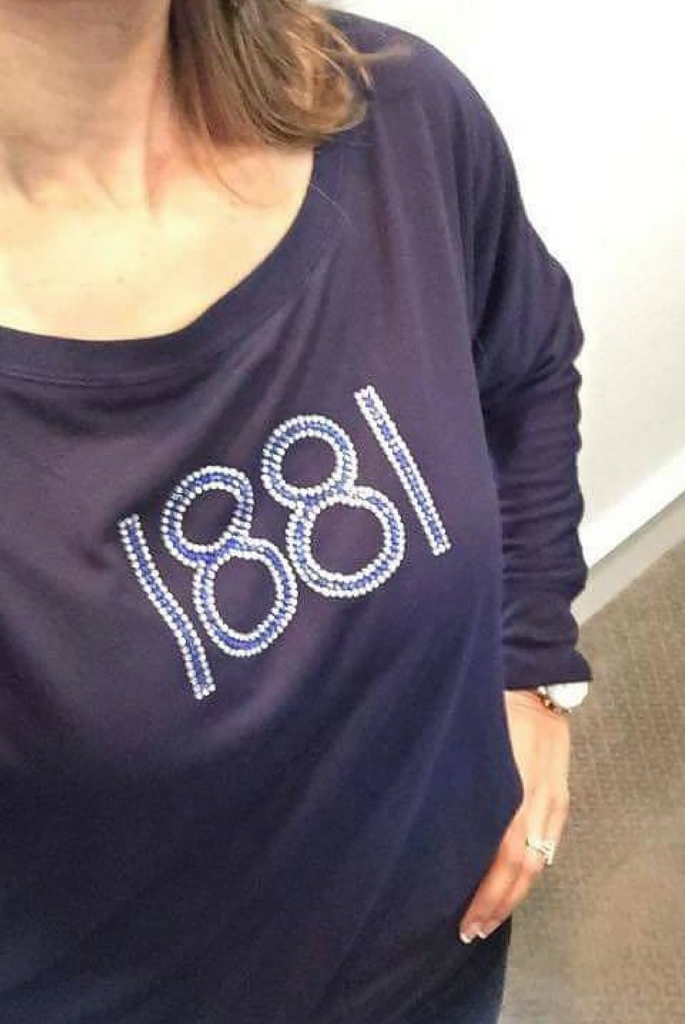 "The Classic ""1881"" Long Sleeve Blousy"