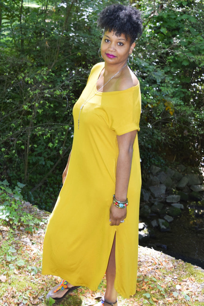 The Innocence Collection: The V-neck Maxi Dress