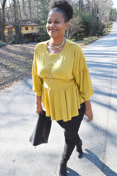 "The Closet Refresh - Must Have Mustard ""Never Miss A Beat"" Top"