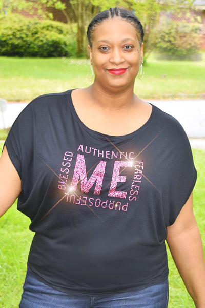 "Mommy and Me Collection: The ""ME"" Bling Top"