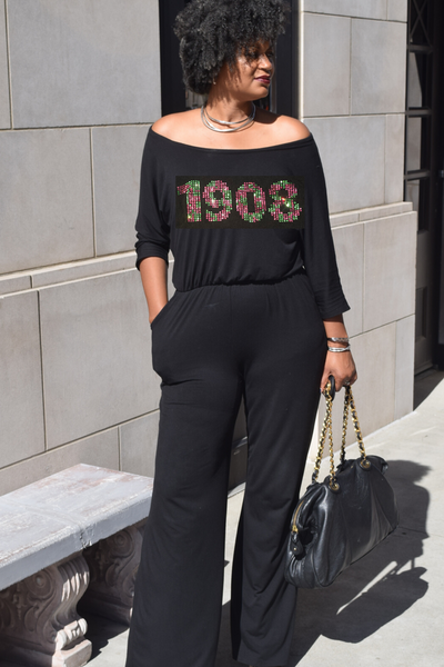 "The Centerstage ""1908"" Wide Neck Wide Leg Jumpsuit"