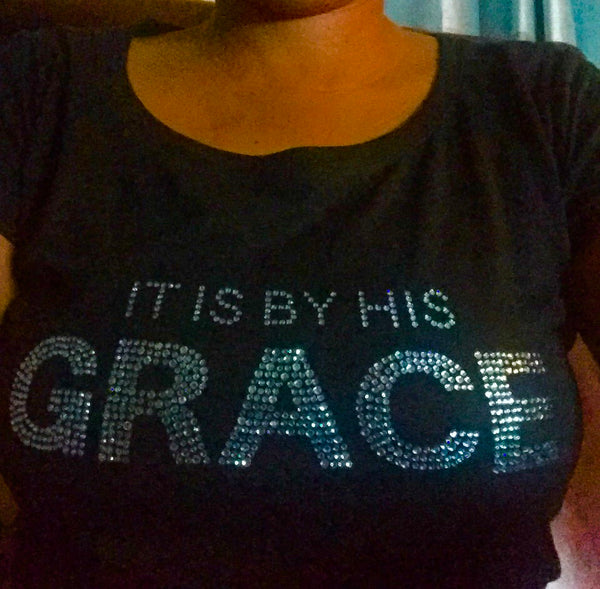 It is By His Grace Fundraising Tee
