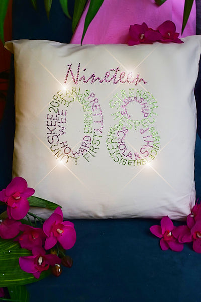 """Infinity 1908"" Throw Pillow"