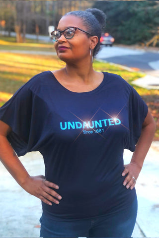 Order Must Be The UNDAUNTED since 1881 - Short Sleeve Blousy