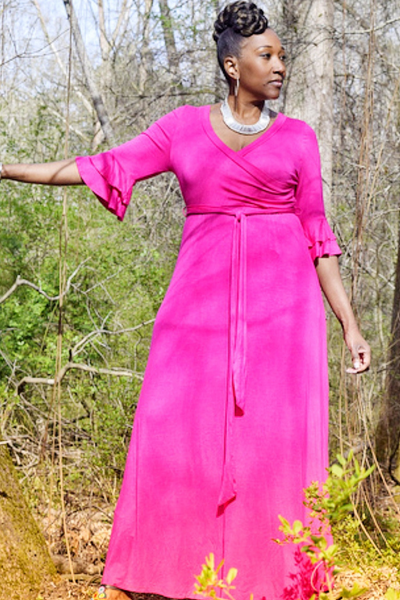 CLEARANCE: The Closet Refresh Collection - Purposeful Pink Maxi Dress