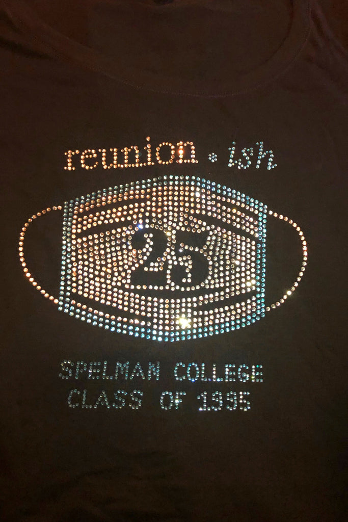 Class of 1995  Spelman 25 Reunion Baby Doll Tee