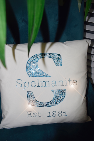 Spelmanite Throw Pillows