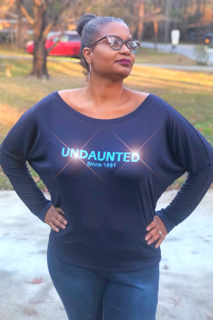 The UNDAUNTED Since 1881 - Long Sleeve Lightweight Blousy Style