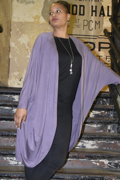 "Closet Refresh: ""Walk Like a Queen"" Oversized Dolman Cocoon Cardigan"