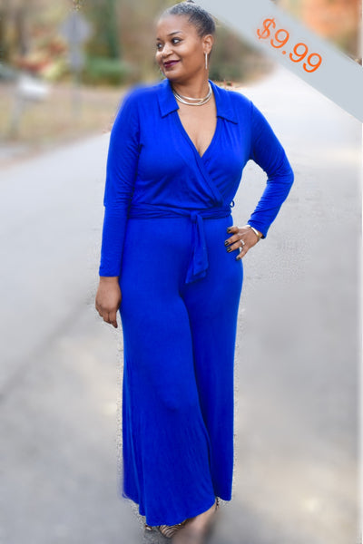 The Closet Refresh - The Bold and the Beautiful in Blue Jumpsuit