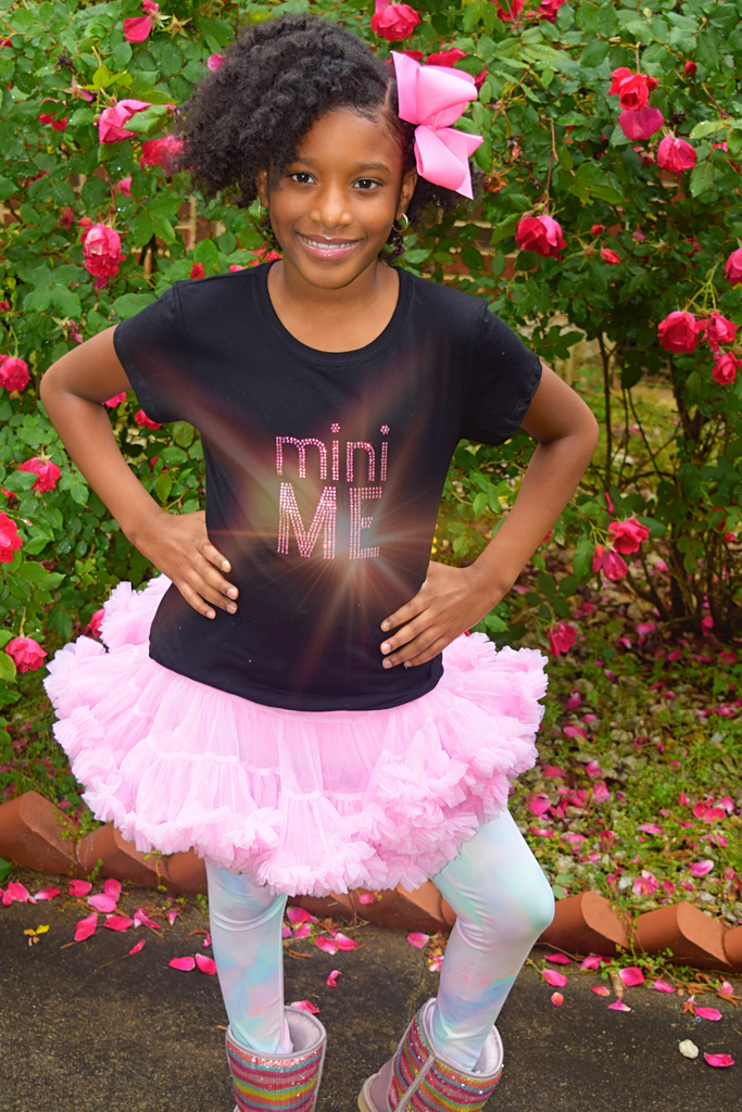 "Mommy and Me Collection: Girls ""Mini Me"" Tee"