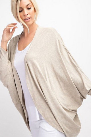 "The Closet Refresh:  ""Get Ready to Fly"" Dolman Cocoon Cardigan"