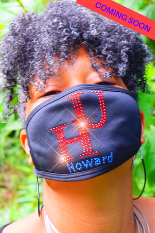 "Bling Mask: ""HU"" Howard University"