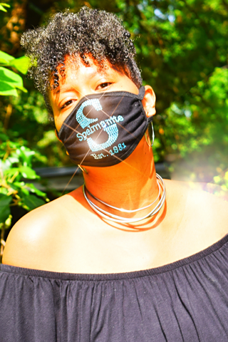Bling Mask: S is for Spelmanite