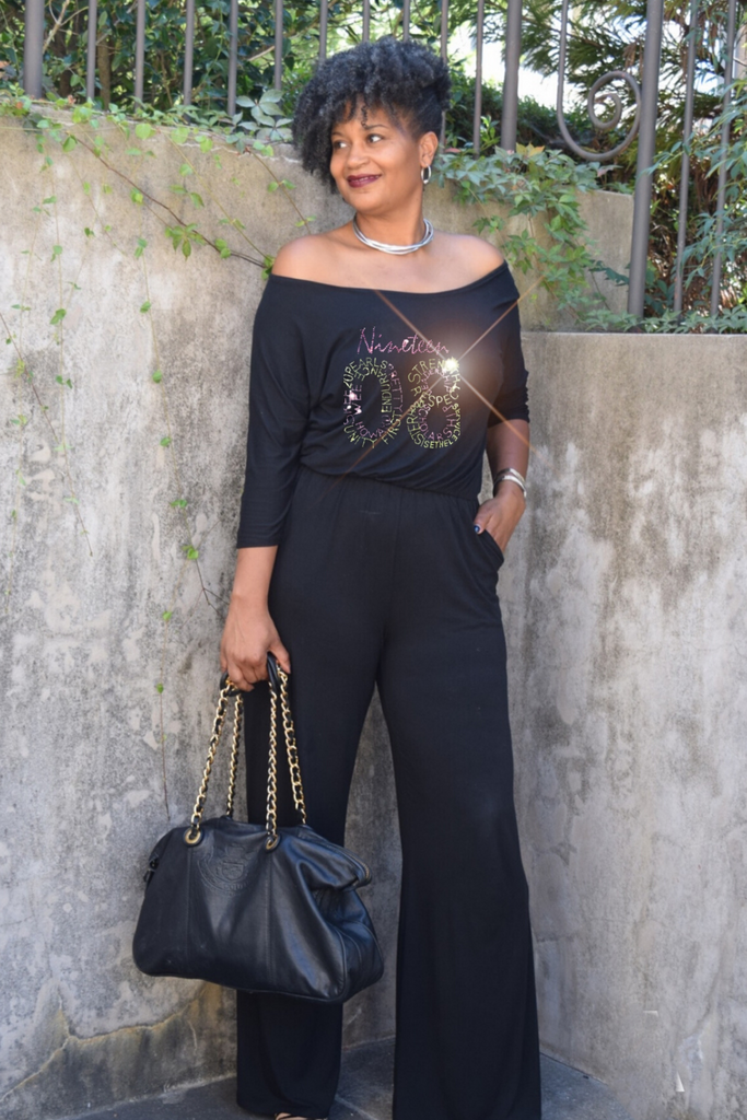 "The Infinity ""1908"" Wide Neck Wide Leg Jumpsuit"
