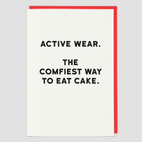 Active wear Card