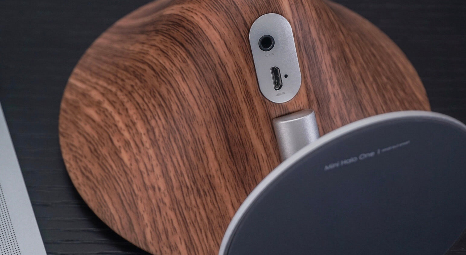 Mini Halo One Bluetooth - Walnut