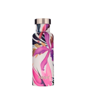 Vital Water Bottle Tropical pattern