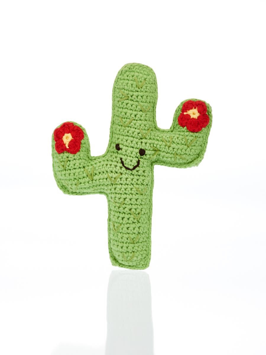 Knitted Cactus Rattle